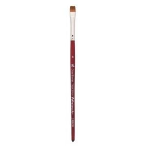 Princeton™ Velvetouch™ Synthetic Mixed Media Chisel Blender 4 Brush: Short Handle, Luxury Synthetic, Chisel Blender, 4, Multi, (model 3950CB4), price per each