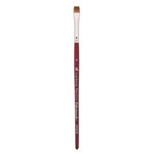 Princeton™ Velvetouch™ Synthetic Mixed Media Chisel Blender 6 Brush: Short Handle, Luxury Synthetic, Chisel Blender, 6, Multi, (model 3950CB6), price per each