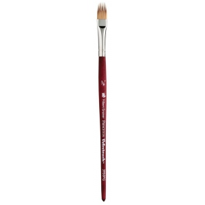 Princeton™ Velvetouch™ Synthetic Mixed Media Filbert Grainer 037 3/8 Brush: Short Handle, Luxury Synthetic, Filbert Grainer, 037, Multi, (model 3950FG037), price per each