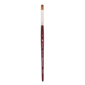 Princeton™ Velvetouch™ Synthetic Mixed Media Flat Shader 10 Brush; Length: Short Handle; Material: Luxury Synthetic; Shape: Flat Shader; Size: 10; Type: Multi; (model 3950FS10), price per each