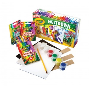 Crayola® Meltdown Art Set: Children's Art Kit, (model 52-0022), price per set
