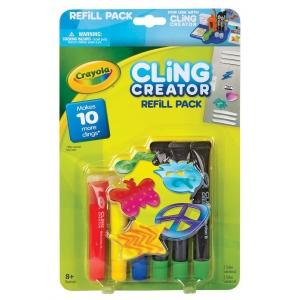 Crayola® Cling Creator Refill Pack; Age Level: 8+; Type: Children's Art Kit; (model 74-7093), price per each