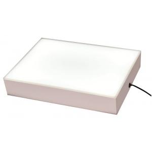 "Porta-Trace® LED ABS Plastic Light Box; Material: Plexiglas; Size: 8""l x 10""w x 2""h; (model 810ABSLED), price per each"