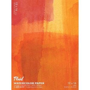 "Hand Book Journal Co.™ Fluid™ Easy-Block™ Cold Press Watercolor Paper 12"" x 16"": 15 Sheets, 12"" x 16"", Cold Press, 140 lb, (model 881216), price per 15 Sheets pad"