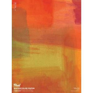"Hand Book Journal Co.™ Fluid™ Easy-Block™ Cold Press Watercolor Paper 18"" x 24"": 15 Sheets, 18"" x 24"", Cold Press, 140 lb, (model 881824), price per 15 Sheets pad"