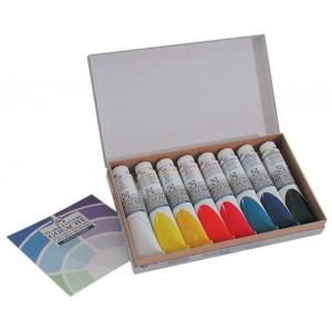 Royal Talens Talens® Gouache 8-Color Set: Multi, Tube, 20 ml, Gouache, (model 8820408), price per each