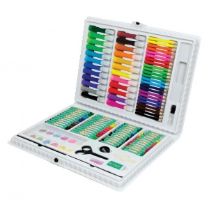 Royal & Langnickel® Art Adventure™ 120-Piece Art Set: Case, 120 Piece, Children's Art Kit, (model AVS-531), price per set