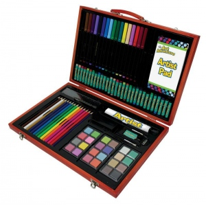 Royal & Langnickel® Art Adventure™ 106-Piece Art Set: 106 Piece, Children's Art Kit, (model AVS-544), price per set