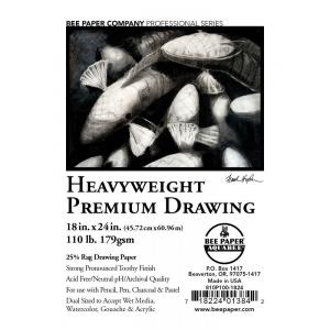 "Bee Paper® Heavyweight Premium Drawing Sheets 18"" x 24"": Sheet, 100 Sheets, 18"" x 24"", Drawing, 110 lb, (model B810P100-1824), price per 100 Sheets"