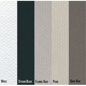 "Canson® Mi-Teintes® 19"" x 25"" Sheet 10 Pack Grey; Binding: Fold Over; Color: Black/Gray, Multi; Format: Pad; Quantity: 10 Sheets; Size: 19"" x 25""; (model C100511340), price per 10 Sheets"