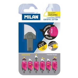 Milan® MILAN® Capsule Ceramic Refill Blades; Material: Ceramic; Replacement Part: Yes; Style: General Purpose; Type: Replacement Blade; (model BTM10338), price per each