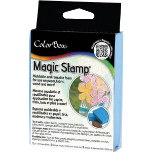 "MagicStamp™ Moldable Foam Stamp Block; Size: 3"" x 5""; Type: Block; (model CS10202), price per each"