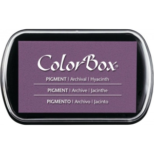 "ColorBox® Full Size Ink Pad Hyacinth: Purple, Pad, Pigment, 2 1/2""l x 4""w x 1/4""h, (model CS15229), price per each"