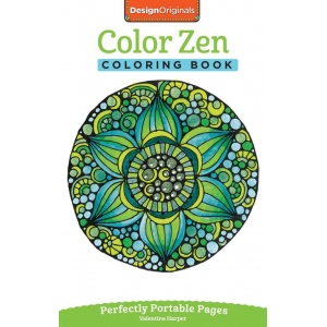 Design Originals Color Zen Mini Creative Coloring Books for Adults: Book, (model DO5567), price per each