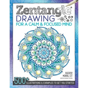 "Zentangle® Drawing for a Calm & Focused Mind; Format: Book; Size: 8 1/2"" x 11""; (model DO5593), price per each"