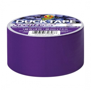 "Duck Tape® Scents® 8-yd Roll Tape Grape Purple; Color: Purple; Format: Roll; Size: 1.88"" x 8 yd; Type: Color; (model DT240899), price per each"