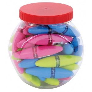 Kum® DISPLAY SHARPENER ELLIPSE; Holes: One; Material: Plastic; Type: Manual; (model EP100PD), price per pack