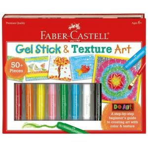 Faber-Castell® Do Art Gel Stick and Texture Art; Age Level: 6+; Type: Children's Art Kit; (model FC14554), price per set