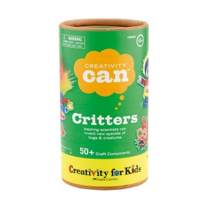 Creativity for Kids® Creativity Can® Critters; Age Level: 4+; Type: Creativity Kit; (model FC3902), price per each