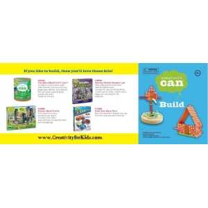 Creativity for Kids® Creativity Can® Build; Age Level: 4+; Type: Creativity Kit; (model FC3907), price per each