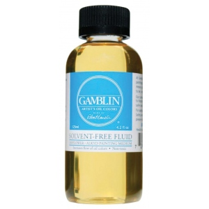 Gamblin Solvent-Free Fluid Medium 4.2oz/120ml: 4.2 oz, (model GB02604), price per each