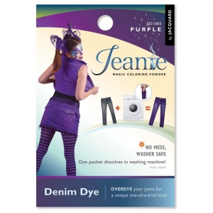 Jacquard Jeanie Purple Denim Dye; Color: Purple; Format: Packet; Type: Denim Dye; (model JJD005), price per each