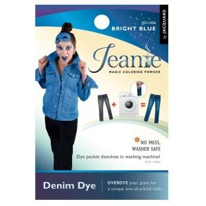 Jacquard Jeanie Bright Blue Denim Dye: Blue, Packet, Denim Dye, (model JJD006), price per each