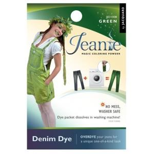 Jacquard Jeanie Green Denim Dye; Color: Green; Format: Packet; Type: Denim Dye; (model JJD008), price per each