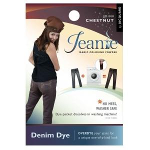Jacquard Jeanie Chestnut Denim Dye; Color: Brown; Format: Packet; Type: Denim Dye; (model JJD010), price per each