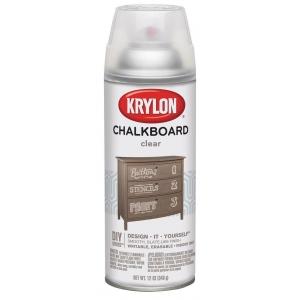 Krylon® Chalkboard Spray Paint Clear: Clear, Spray Can, 12 oz, Chalkboard, (model K0808), price per each
