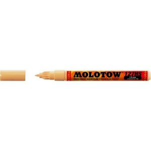 MOLOTOW™ 1.5mm Crossover Tip Acrylic Pump Marker Sahara Beige Pastel (009); Color: Brown; Ink Type: Paint; Refillable: Yes; Tip Size: 1.5mm; Tip Type: Fine Nib; Type: Paint Marker; (model M127426), price per each