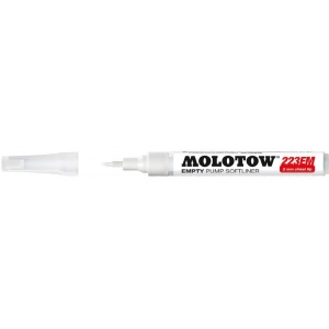 MOLOTOW™ Empty Chisel Marker; Refillable: Yes; Tip Type: Chisel Nib; Type: Paint Marker; (model M211012), price per each