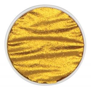 Finetec Artist Mica Watercolor Pan Refill - Arabic Gold: Metallic, Pan, Refill, Watercolor, (model M630), price per each