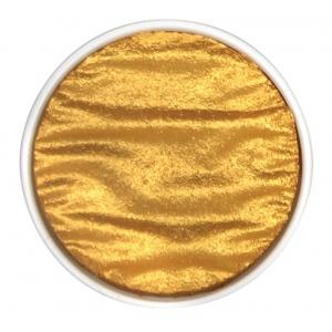 Finetec Artist Mica Watercolor Pan Refill - Gold Pearl; Color: Metallic; Format: Pan; Refill: Yes; Type: Watercolor; (model M640), price per each