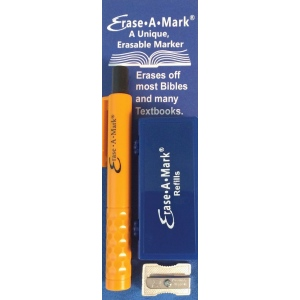 Erase-A-Mark® Book & Bible Marking Set; Color: Multi; Format: Clamshell; Type: Marking; (model MARK58), price per set