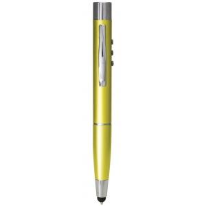 Monteverde® Black Selfie Pen; Color: Green; Tip Type: Ballpoint; (model MV20594), price per each