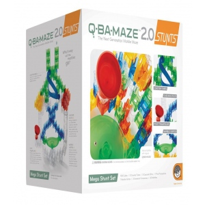 Mindware® Q-BA-MAZE™ 2.0 Mega Stunt Set; Type: Marble; (model MW56181), price per set