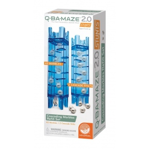Mindware® Q-BA-MAZE™ 2.0 Cascading Marble Refill Set; Type: Marble; (model MW56190), price per set