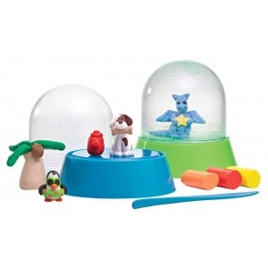Mindware® Make Your Own Glitter Snow Globes; (model MW68324), price per set