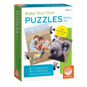 Mindware® Make Your Own Puzzles Refill Set: Puzzle, (model MW68327), price per set