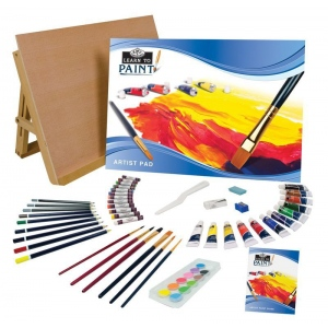 Royal & Langnickel® Learn To™ Paint Set: Art Kit, (model RSET-LT101), price per set
