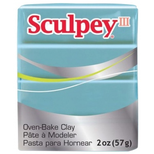 Sculpey® III  Polymer Clay Tranquility: Green, Bar, Polymer, 2 oz, (model S302370), price per each