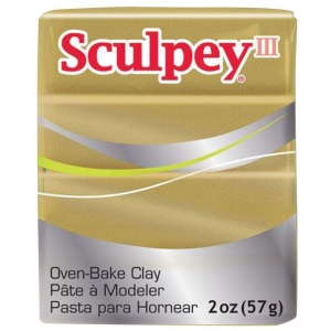 Sculpey® III  Polymer Clay Buried Treasure; Color: Brown; Format: Bar; Material: Polymer; Size: 2 oz; (model S302380), price per each