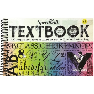 Speedball® The Speedball Textbook; Format: Book; Type: Calligraphy; (model S3069), price per each