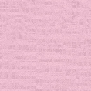 "My Colors Canvas 80 lb. Textured Cardstock Pale Blossom 12 x 12; Color: Pink/Red; Format: Sheet; Quantity: 25 Sheets; Size: 12"" x 12""; Texture: Canvas; Weight: 80 lb; (model T051109), price per 25 Sheets"