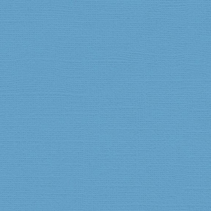 """My Colors Canvas 80 lb. Textured Cardstock Madras Blue 12 x 12; Color: Blue; Format: Sheet; Quantity: 25 Sheets; Size: 12"""" x 12""""; Texture: Canvas; Weight: 80 lb; (model T057728), price per 25 Sheets"""