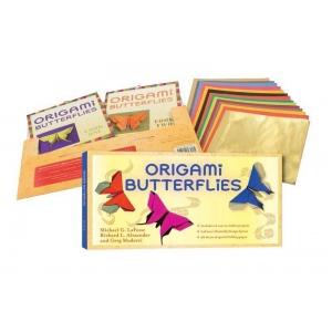 Tuttle Origami Butterflies Kit: Origami, (model T840279), price per kit