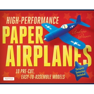 Tuttle High-Performance Paper Airplanes Kit; Type: Origami; (model T843072), price per kit