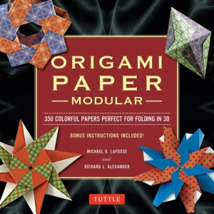 Tuttle Modular Origami Paper Pack; Color: Multi; Format: Sheet; Quantity: 350 Piece; Type: Origami; (model T843218), price per 350 Piece
