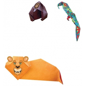 Tuttle Origami Zoo Kit: Origami, (model T846219), price per kit